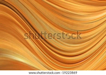 gold rippled background