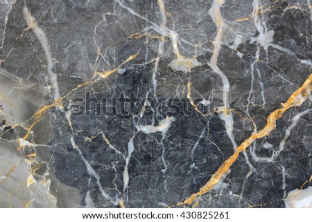 Gold russia pattern of gray marble texture of design.