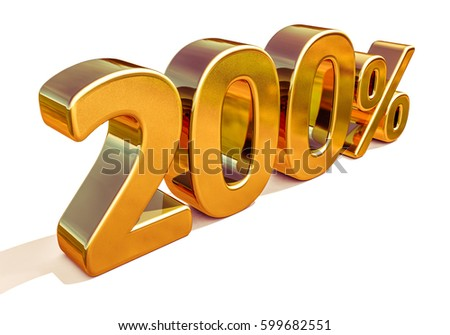 Gold Sale 200%, Golden Percent Off Discount Sign, Sale Promo, Special Offer 200% Off Discount Tag, Golden Two Hundred Percentages Sign, Golden 200%, Gold Total Sale, Luxury, Total Sale, Free 200%