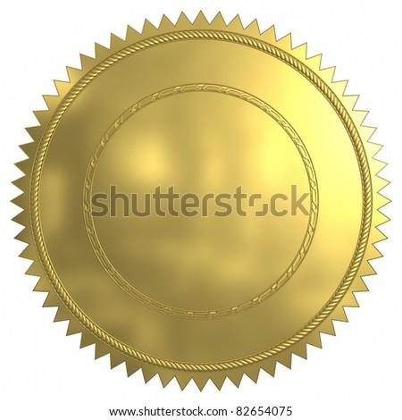 Gold sea. - stock photo