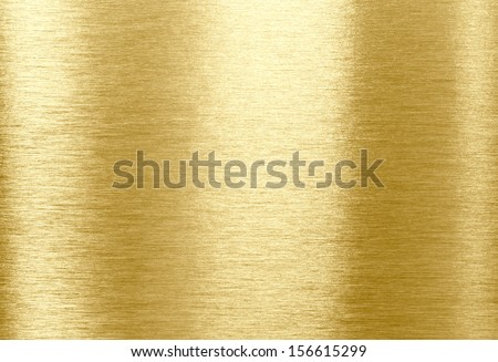 Gold shining metal texture background - stock photo