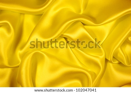Gold silk background - stock photo