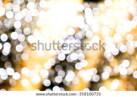 Gold spring or summer background. Elegant abstract background with bokeh defocused lights good - stock photo