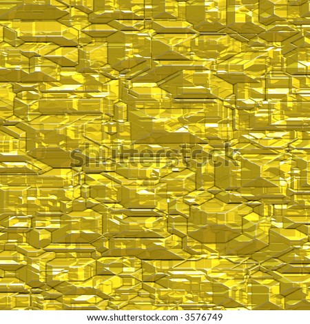 Gold surface and texture - stock photo