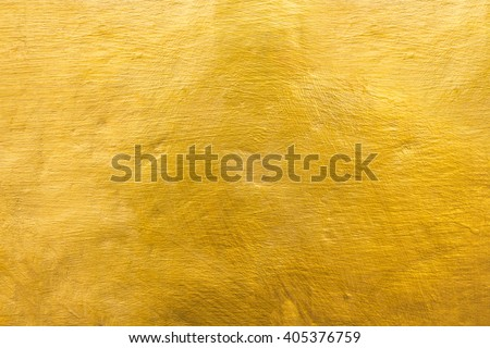 Gold texture wall, golden texture background. - stock photo