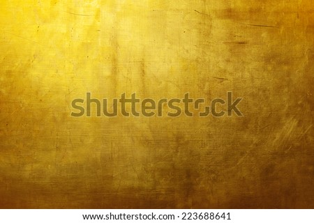 Gold texture wallpaper - stock photo