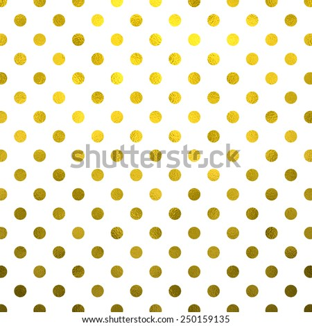 Gold White Polka Dot Pattern Swiss Dots Texture Digital Paper Background