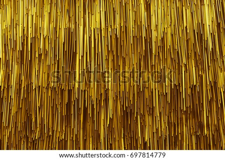 Gold yellow color texture pattern abstract background can be use as wall paper screen saver brochure cover page or for presentations background or articles background also have copy space for text.