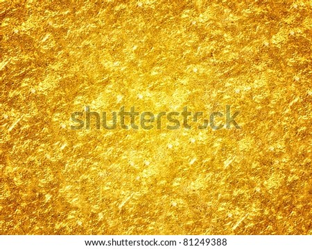 Golden abstract background - stock photo