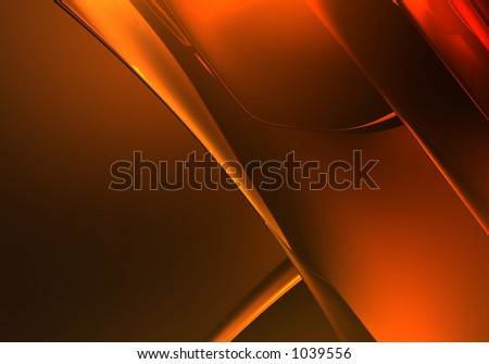 golden background (abstract) 01 - stock photo