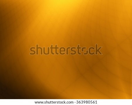 Golden background illustration abstract modern design - stock photo