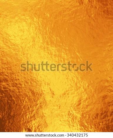 golden background texture. - stock photo