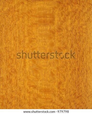 Golden Brazilian Lacewood Background - stock photo