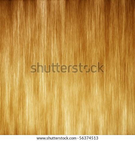 Golden brushed metal texture - stock photo