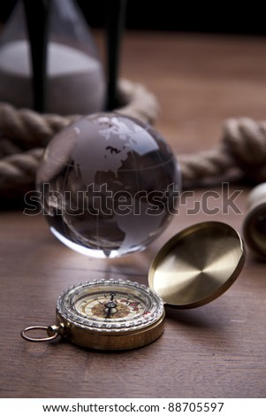 Golden Compass, Globe and navigation equipment