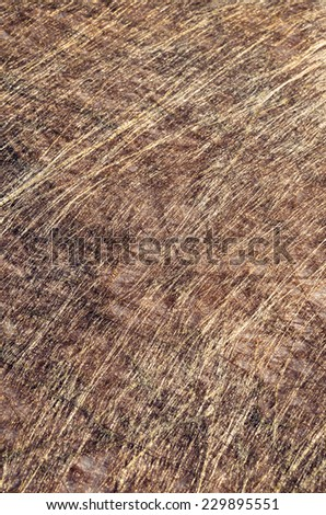 Golden-copper shiny abstract vertical background From series Backgrounds for greeting cards - stock photo