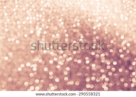 golden defocused lights background. abstract Bokeh golden lights - stock photo