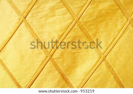 golden fabric as background