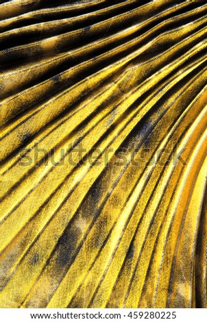 golden fabric texture background - stock photo