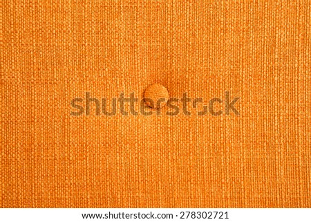 Golden fabric with bottom background - stock photo
