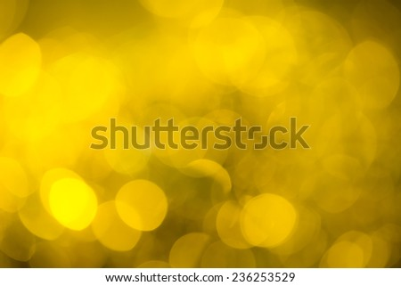 Golden festive New Year'?s background. Abstract with bright twinkles, sparkles, blurred, defocused light. - stock photo