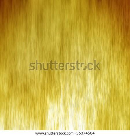 Golden foil texture - stock photo