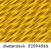 Golden folded background - stock photo