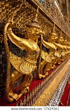Golden Garuda in Grand Palace, Thailand