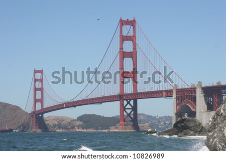 Golden Gate - stock photo