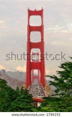 Golden Gate. - stock photo