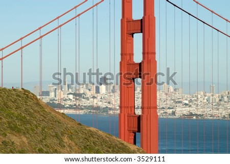 Golden Gate and Skyline