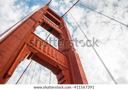 Golden Gate Bridge, California, USA.