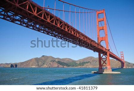 Golden Gate Bridge from Below