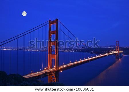 Golden Gate Bridge San Francisco - stock photo