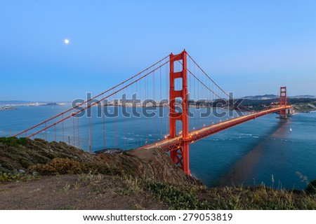 Golden gate bridge , San Francisco