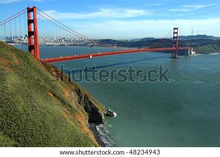 Golden Gate Bridge, San Francisco Ca - stock photo