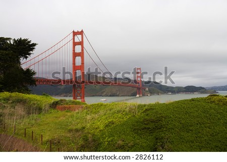 Golden Gate Bridge, San Francisco California - stock photo