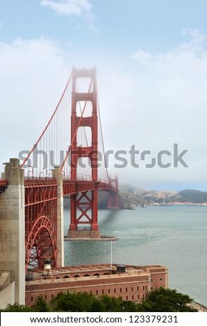 Golden Gate Bridge, San Francisco, USA - stock photo