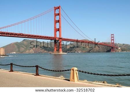 Golden Gate Bridge, San Francisco (USA) - stock photo
