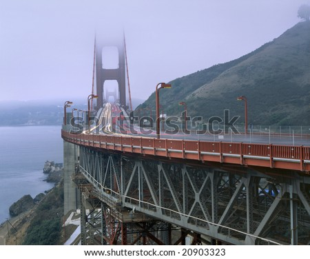 Golden Gate Bridge, San Fransisco, California - stock photo