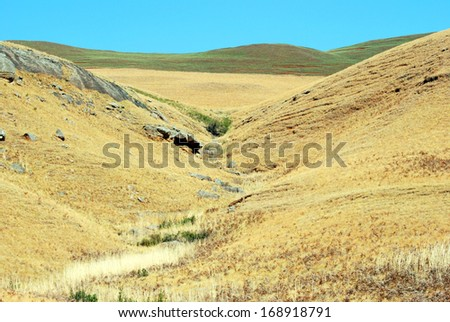 Golden Gate National Park, South Africa landscape - stock photo