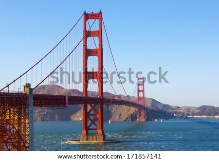 Golden Gate, San Francisco, California