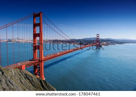 Golden Gate, San Francisco, California - stock photo