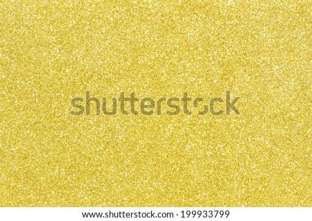 golden glitter texture christmas background - stock photo