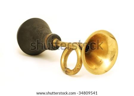 golden horn - stock photo