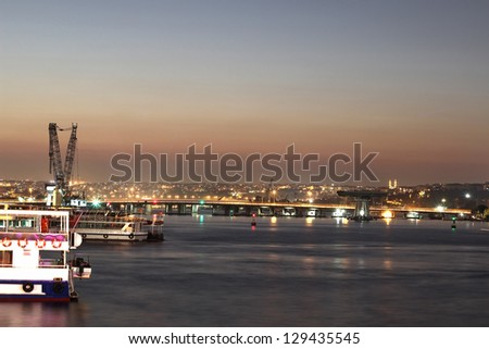 Golden Horn View, Istanbul - stock photo