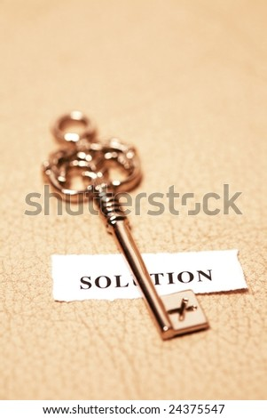 golden key for solution