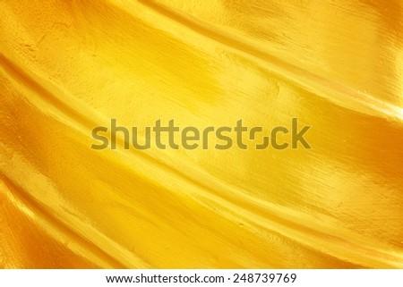 golden layer texture  - stock photo