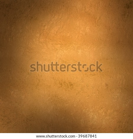 Golden metal texture background in square format - stock photo