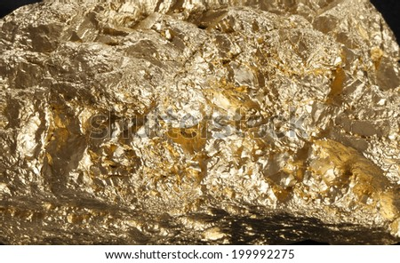 Golden Nugget  - stock photo